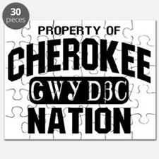 Property of Cherokee Nation Puzzle