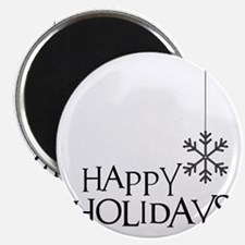 Simple Wishes Happy Holiday Snowflake Magnet
