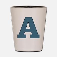 Alphabet A Shot Glass
