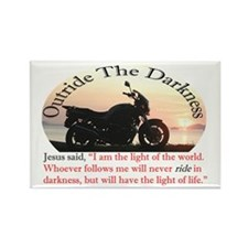 Outride The Darkness Rectangle Magnet