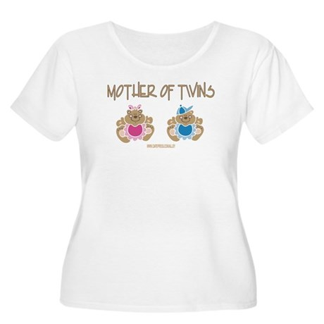 Mother Of Twins (B&G) Women's Plus Size Scoop Neck