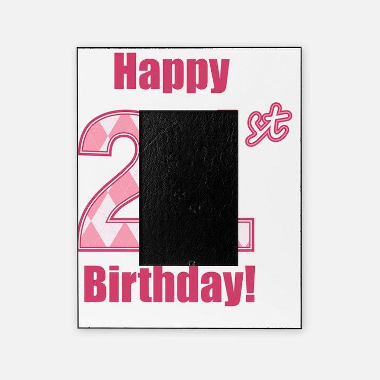 Happy 21St Birthday Happy 21st Birthday Picture Frames