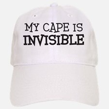 my e is invisible Baseball Baseball Cap