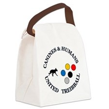 Canines & Humans United Treibball Canvas Lunch Bag