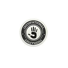 Occupational Therapist Hand Mini Button