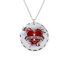 I love breakbeats Necklace Circle Charm