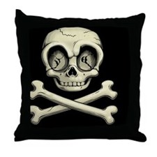 billy-bones-TIL Throw Pillow