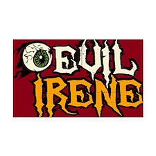Evil Irene Rectangle Car Magnet