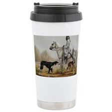 Arabian Bedouin Hunting Travel Mug