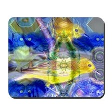 Nature Reflections I - Abstract Gold  Bl Mousepad