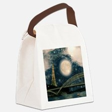 one starry night on paris Canvas Lunch Bag