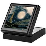 Full moon Square Keepsake Boxes
