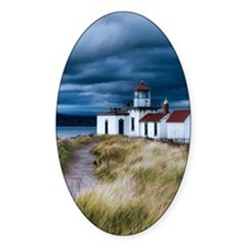 stormy lighthouse Decal
