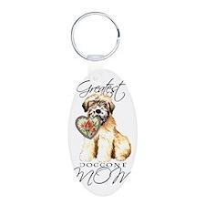 wheaten-mom1 Keychains