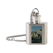 BRHal2 Flask Necklace