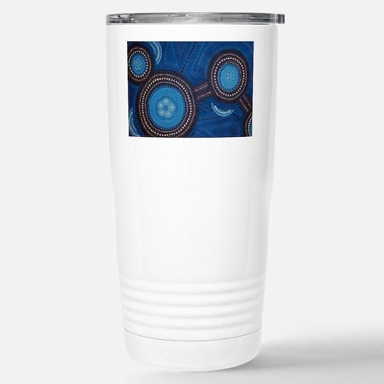 aboriginal Stainless Steel Travel Mug