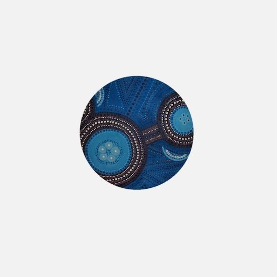 aboriginal Mini Button