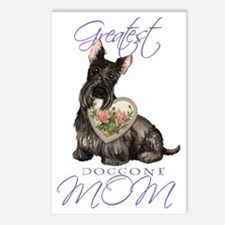Scottie mom Postcards (Package of 8)