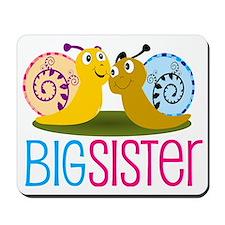 Big Sister Snail Mousepad