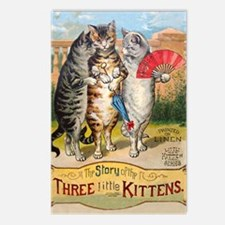 Three Little Kittens Lost Postcards (Package of 8)