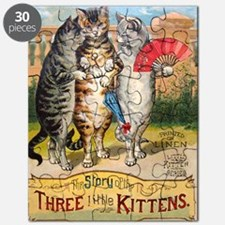 Three Little Kittens Lost Their Mittens Puzzle