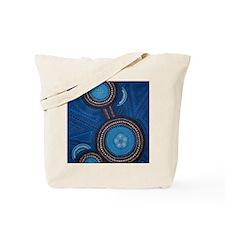 aboriginal vertical Tote Bag