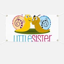 Little Sister Snail Banner