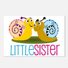 Little Sister Snail Postcards (Package of 8)