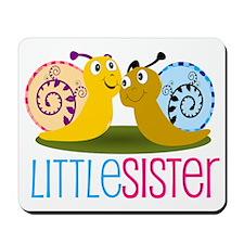Little Sister Snail Mousepad