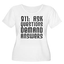 911: Ask Questions, Demand An T-Shirt