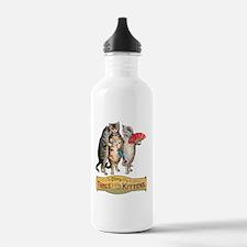 Three Little Kittens L Water Bottle