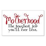 Motherhood Rectangle Sticker