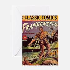 CC No 26 Frankenstein Greeting Card