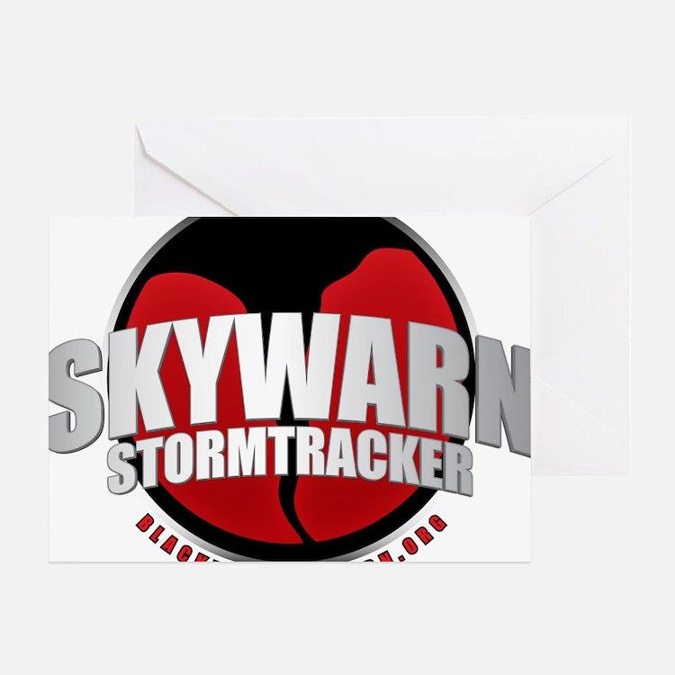 Skywarn Storm Tracker Greeting Card