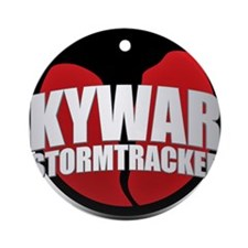 Skywarn Storm Tracker Round Ornament