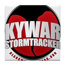 Skywarn Storm Tracker Tile Coaster