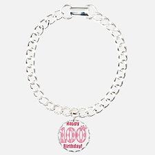 Happy 100th Birthday - P Bracelet
