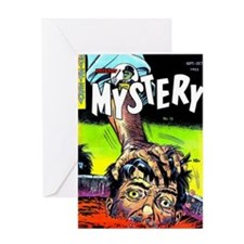 Mister Mystery No 13 Greeting Card