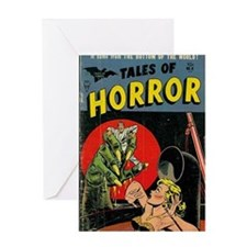 Tales of Horror 01 Greeting Card