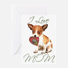 Chi Mom Greeting Card