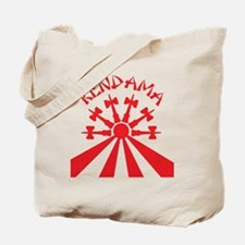 red Kendama Sun b Tote Bag