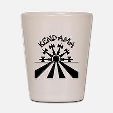 blk Kendama Sun Shot Glass