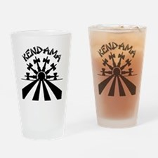 blk Kendama Sun Drinking Glass