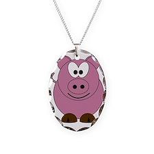 Happy Pig Necklace