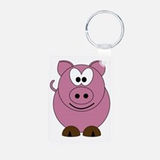 Happy Pig Keychains