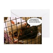 Rat Gag Greeting Card