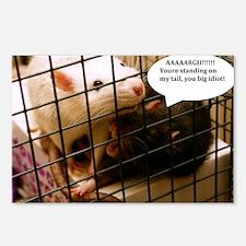 Rat Gag Postcards (Package of 8)