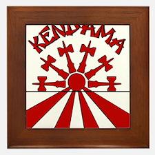 Kendama Sun Framed Tile