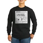 CAN YOU DO THE NUMBERS? Long Sleeve Dark T-Shirt