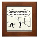 CAN YOU DO THE NUMBERS? Framed Tile